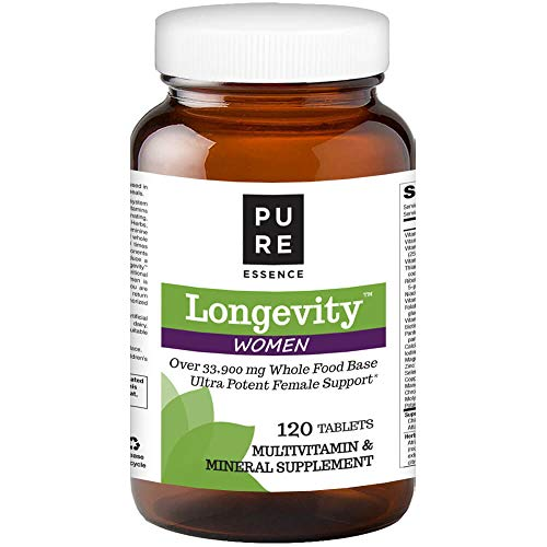 Pure Essence Labs Longevity Women's Formula - Anti Aging Multiple - 120 ()