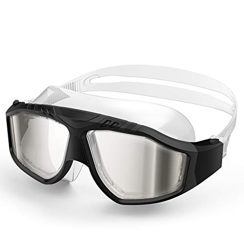 OutdoorMaster Swim Mask - Wide View Swimming Mask & Goggles Anti-fog Waterproof