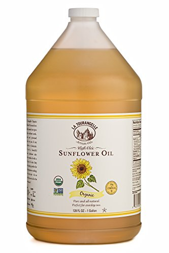 La Tourangelle, Organic Sunflower Oil, 128 Fluid Ounce