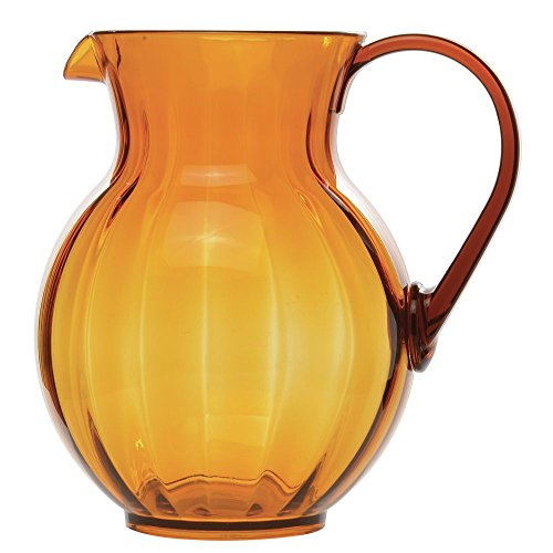 Pitcher Tahiti - G.E.T. Tahiti Amber Polycarbonate 90 Oz Pitcher