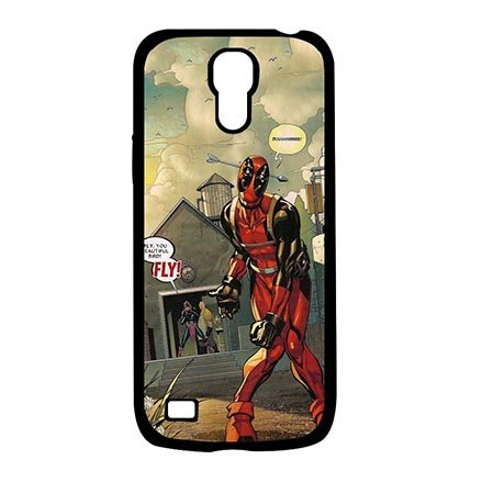 Samsung Galaxy S4 MINI Dust Proof Lightweight Cases for Deadpool Marvel Comics Best Case Protection For Women