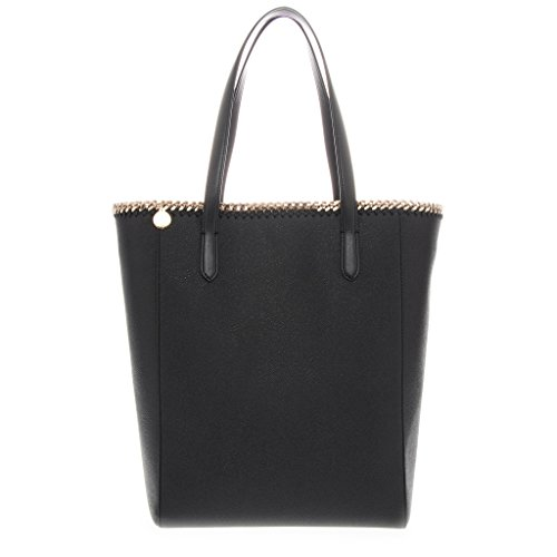 Stella-McCartney-Womens-Falabella-Chain-Trimmed-Faux-Eco-Leather-Tote-Black