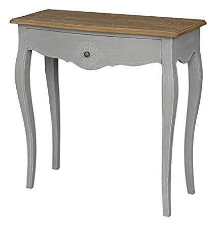 Amazon Com Wood Console Table Console Table With 1 Drawer