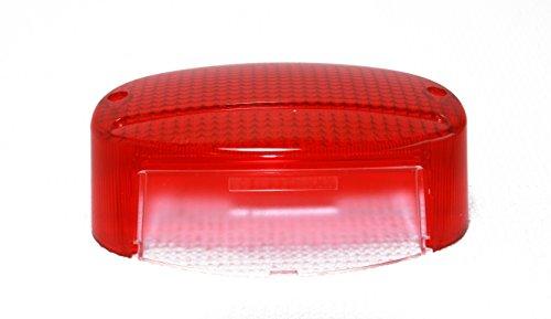 Kawasaki Elimanator, Vulcan, or Bruteforce Motorcyle TAIL LIGHT LENS - Replaces OEM 23026-1183