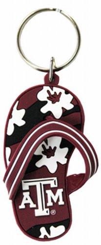 NCAA Texas A & M Aggies Flip Flop PVC Keychain