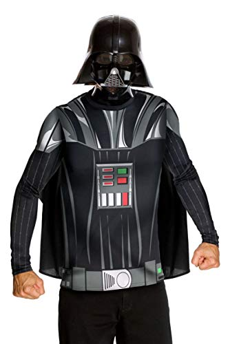 Star Wars Adult Darth Vader Costume Kit, Black, Large]()