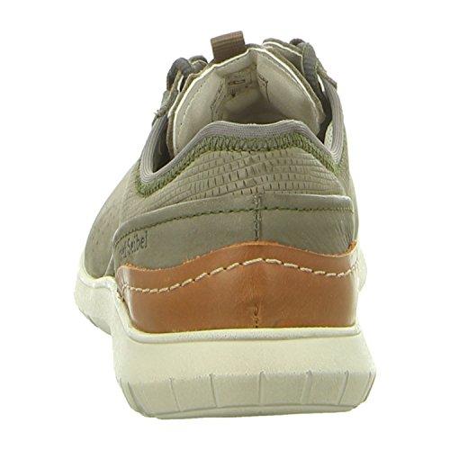 Josef Para Piel Lisa Cordones de Musgo Verde Zapatos musgo Verde Mujer Seibel de verde w0fqrXA0