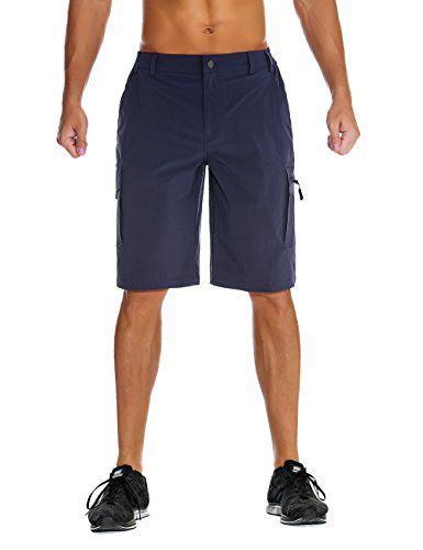 Unitop Mens Hiking Shorts Royal Blue S from Unitop