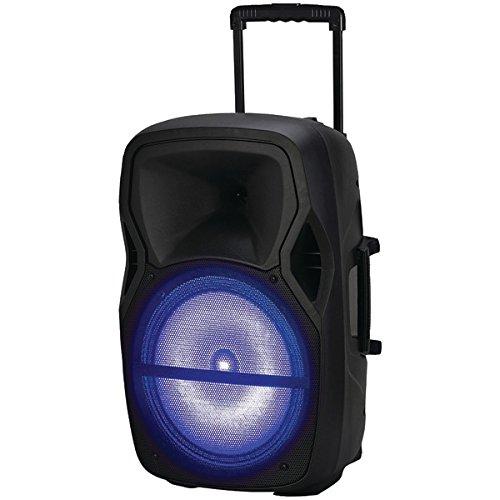 NAXA NDS-1203 Portable Bluetooth DJ/PA Speaker