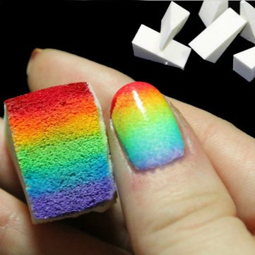 Buy 8pcs Diy Sponge Creative Nail Art Tools Online At Low Prices In