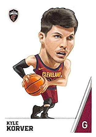 980365c34838 2018-19 Panini NBA Stickers  77 Kyle Korver Fathead Cleveland Cavaliers NBA  Basketball Sticker