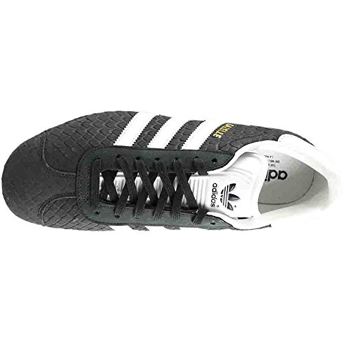Adidas Wmns Gazelle Shoes # S76025 Blk