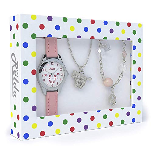 Pink Horse Watch and Girls Jewellery Set – Watch Gift for sale  Delivered anywhere in USA
