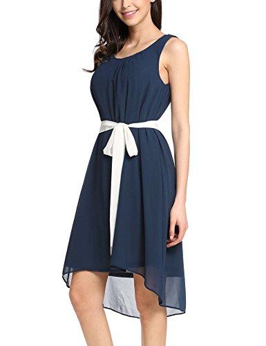 Kleid knielang rundhals