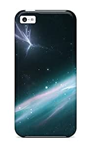 Awesome Sci Fi Galaxy Flip Case With Fashion Design For Iphone 5c