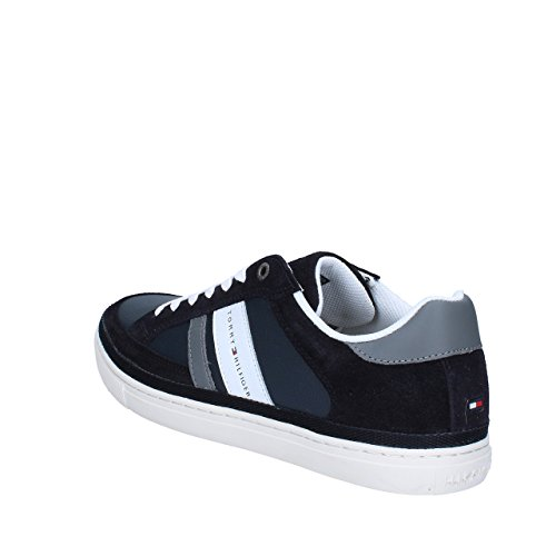 Homme Bleu Tommy Sneakers Hilfiger Midnight 1 Basses 403 M2285aze vw1vYX