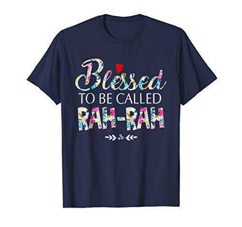 RAH-RAH - Womens Blessed To Be Called RAH-RAH Tshirt
