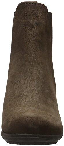 Andrea Conti 1462726, Zapatillas de Estar por Casa para Mujer Marrón Oscuro