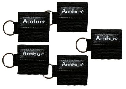 Amazon.com: Ambu cb-3021 – 005-blk nailon negro Res-Cue Key ...