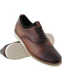 Sapato Oxford Masculino Couro Macio Leve Conforto Social