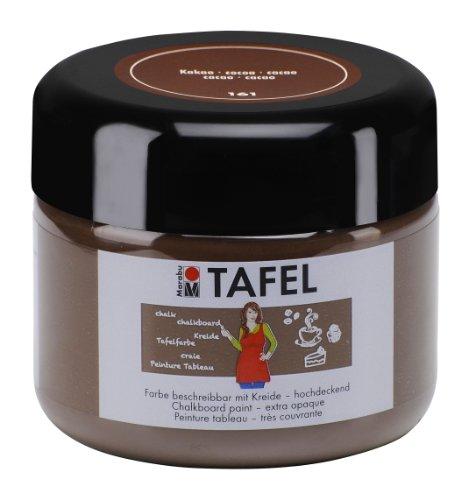 Marabu 025925161 - Tafelfarbe, 225 ml, kakao