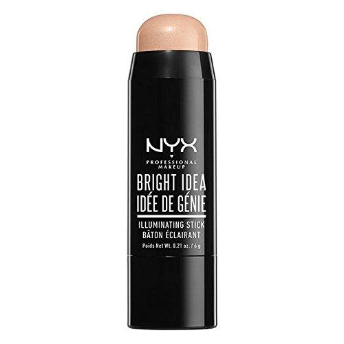 NYX PROFESSIONAL MAKEUP Bright Idea Illuminating Stick, Chardonnay Shimmer, 0.21 Ounce