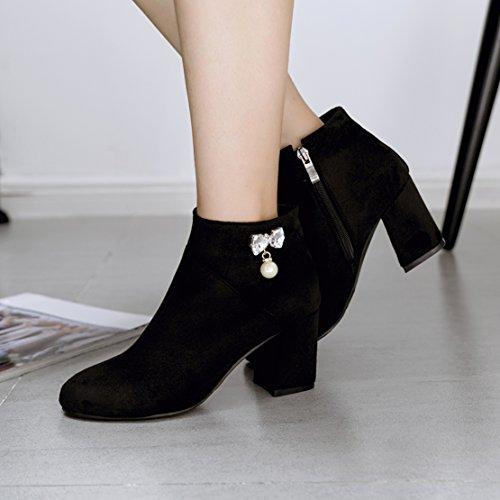 AIYOUMEI Boot Classic AIYOUMEI Classic Classic Black AIYOUMEI Black Black Mujeres Boot Mujeres Mujeres Boot nfzx1AWwnR