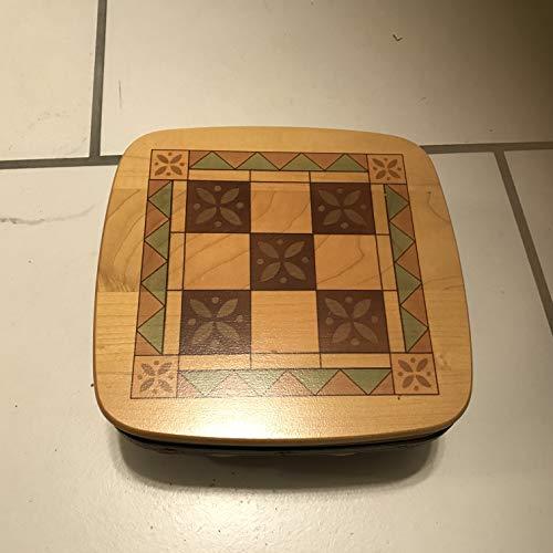 Longaberger 2001 Tic Tac Basket w/Liner & Lid