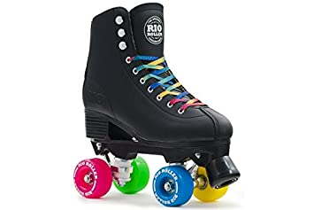 rio roller quad figure roller skates black amazon amazon co uk