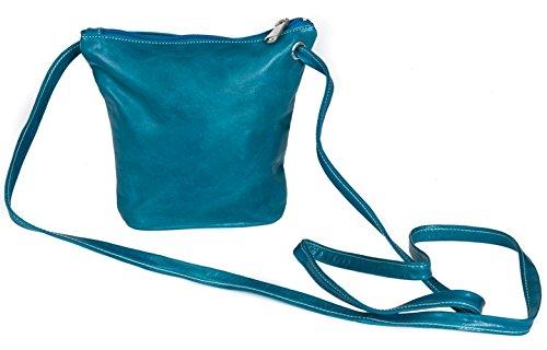 Mini Top Zip Mini Bag - David King & Co. Florentine Top Zip Mini Bag 3518 Purple, Blue, One Size