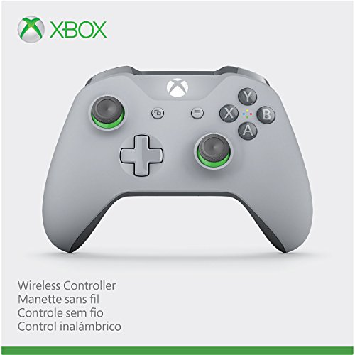 41iC1pSDPxL - Xbox Wireless Controller - Grey/Green