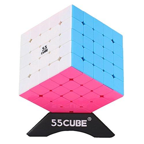 [해외]5x5 Cube Stickerless New Structure 5x5 Cube No Fall Apart - More Smoothly Than Original 5x5 Cube / 5x5 Cube Stickerless, New Structure 5x5 Cube No Fall Apart - More Smoothly Than Original 5x5 Cube