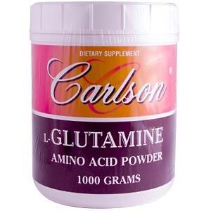Carlson Labs L-Glutamine Powder, 1000g