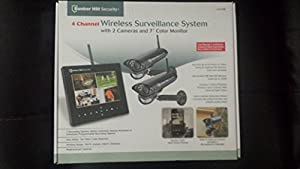 Amazon com New Bunker Hill Wireless Surveillance System