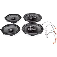 1990-1994 Lincoln Town Car Complete Factory Replacement Speaker Package by Skar Audio