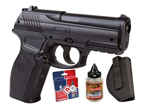(crosman c11 semi-auto air pistol co2 bb kit air)