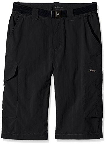 Columbia Sportswear Men's Silver Ridge Cargo Shorts, Black, 44 x 10