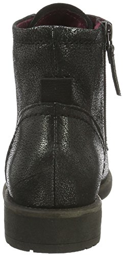 black Tamaris Boots Women''s Metallic Schwarz Ankle 033 Black 25235 BrnqHxB