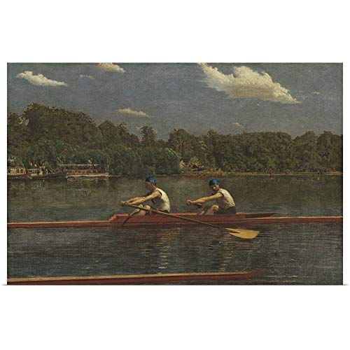 GREATBIGCANVAS Poster Print Entitled The Biglin Brothers Racing, by Thomas Eakins, 1872, American Painting by 60