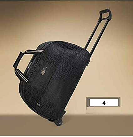 6eb99bfb8dc1 Amazon.com: Haoyushangmao Trolley Bag, Travel Bag, Handbag, Soft ...