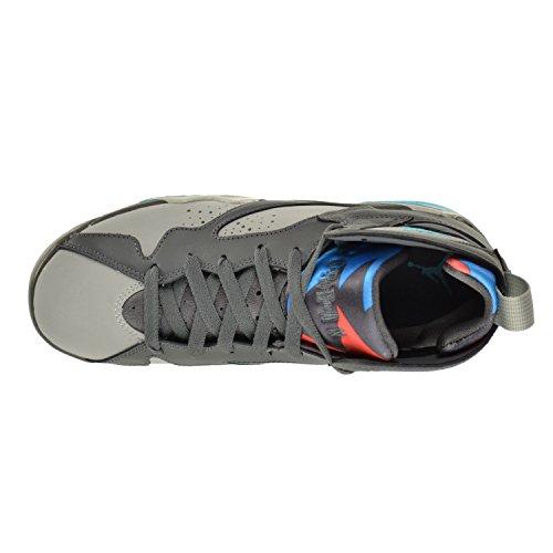 Jordan Air 7 Retro Barcelona Days Bg Big Kids Shoes Grigio Scuro / Turchese-lupo Grigio-arancio Totale 304774-016