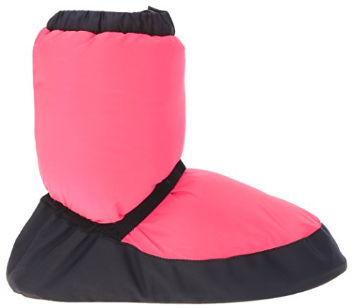 Bloch Warm Up Bootie, Stivali Unisex Per Adulti Rosa Acceso