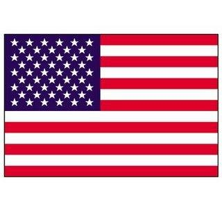 3' X 5' American Flag with Pole Sleeve - Nylon