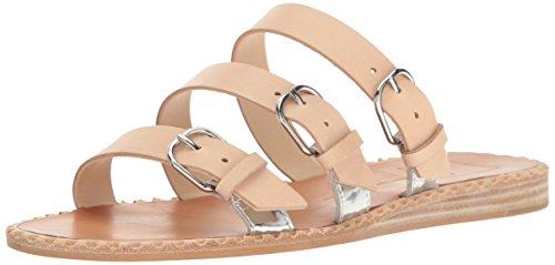 Leather Para Women's Natural Sandal Dolce Slide Vita YqaEgw7