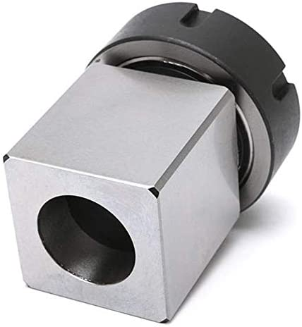 HYY-YY Hard Steel Square ER-40 Collect Chuck Block CNC Lathe Tool Holder Tool bracket