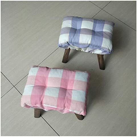 TINTON LIFE Padded Rectangle Bar Stool Cover Cushion with Elastic Fabric Satori Stool Seat Cushion for Metal Wooden Bench 10x14 Coffee