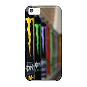 Covers cell phone skins stylish case iPhone 5 5s - all monster drinks