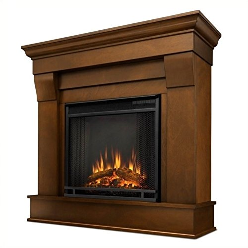 Real Flame Chateau Electric Fireplace Indoor Usage Heating Capacity 1.38 kW Espresso 5910E