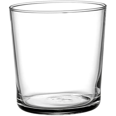 Bormioli Rocco Bodega Tumbler Medium Glasses - 12 Ounce, Set of 12