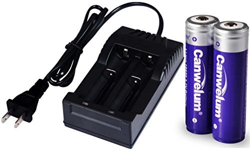 ad6c323a899 Fitquipment Protected 3.7V 18650 Li-ion Battery and Charger